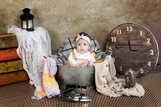Reportaje bebe 4 meses